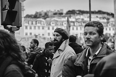 _MG_0133 (neves.joao) Tags: troika imf demonstration manifest manifestation lisbon economics streetphotography europe portugal austerity protest political democracy socialchange crowd canonef2470mml bw blackandwhite