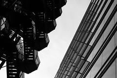// (cybertect) Tags: broadgate carlzeissplanart50mmf14mm cityoflondon ec2 exchangehouse london londonec2 sonya7ii architecture blackwhite blackandwhite building monochrome staircase stairs