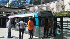 Sydney Metro - Metro trains at Cherrybrook (7) (john cowper) Tags: sydneymetro cherrybrook openday visitors trains metrosydneynorthwest transportfornsw infrastructure alstom suburbs sydney newsouthwales australia