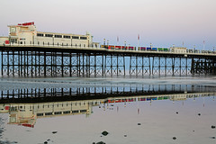 2018_05_06_0221 (EJ Bergin) Tags: sussex westsussex landscape worthing sunset beach sea seaside worthingpier seafront reflection