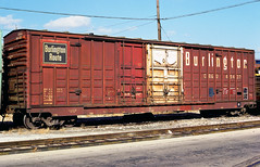 CB&Q Class XM-4C 49437 (Chuck Zeiler 54) Tags: cbq class xm4c 49437 burlington railroad boxcar box car freight eola train chuckzeiler chz