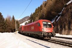 ÖBB 1016 003-3 und 1216 013-3, ARS Autozug, Gries am Brenner (TaurusES64U4) Tags: öbb taurus 1016 1216