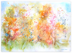 watercolour:..in every winter's heart there is a quivering spring (Nadia Minic) Tags: heart spring poetry hope winter dawn night khalilgibran watercolour art romantic nature hedges blossoms blüten frühlingserwachen rosa träume dreamlike artistnadiaminic luxembourg
