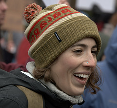 A Face In The Crowd (Scott 97006) Tags: woman female lady beauty pretty smile face hat toque
