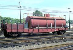 CB&Q 205446 (Chuck Zeiler 48Q) Tags: cbq 205446 burlington railroad mow tank flat car cicero train chuckzeiler chz