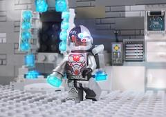 Cyborg (-Metarix-) Tags: lego super hero minifig dc comics cyborg vic stone teen titans justice league