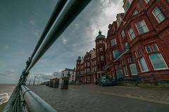 samyang 14mm-3 (istee@live.co.uk) Tags: cromer pier beach seaside wideangle superwideangle sea waves samyang 14mm sonya7rii clouds sky blue