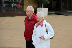 Red (Rick & Bart) Tags: oostende vlaanderen belgië coast city rickvink rickbart canon eos70d urban everydaypeople people strangers candid streetphotography red rood walking strolling