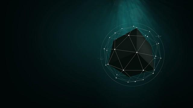 Обои форма, точки, куб, геометрический картинки на рабочий стол, фото скачать бесплатно