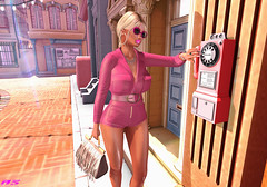 Call Phone (alexandra sunny) Tags: mm catwa maitreya aviglam mina secondlfe equal realevil scandalize rebelgal blog blogger phone woman fashion