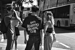 anti anti (gro57074@bigpond.net.au) Tags: group cbd broadway sydney stphotographia monochromatic monotone monochrome mono bw blackwhite f80 artseries sigma 50mmf14 d850 nikon candidphotography candidstreet streetphotography 2019 march guyclift