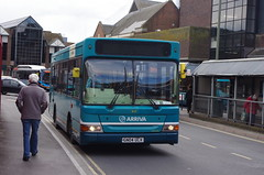 IMGP8673 (Steve Guess) Tags: arriva guildford westsurrey surrey england gb uk bus friary station dennis dart plaxton pointer mpd 1607 gn04ucx