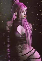Scorpion Flower (marduklust resident) Tags: sl avatar second life dae fangs marduklust iconic dappa kuni asteroid box asteroidbox equal10 equal 10