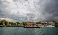 Besiktas iskele (Yaman Y) Tags: istanbul tree turkey clouds cloud amazing yamany yaman iskele ship ships summer window winter sea marmara bosphorus
