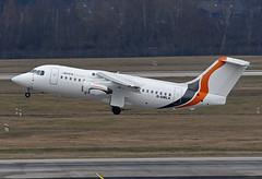 JOTA Aviation British Aerospace 146-200 G-SMLA (EK056) Tags: jota aviation british aerospace 146200 gsmla düsseldorf airport