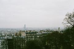 paris (Kathleen Vtr) Tags: paris explore analog film 35mm cityscape view rooftops
