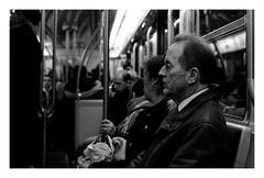 """Monday Morning I"" (The Blue Water Lily's Company) Tags: fdrouet nb bw monochrome monochrom nikon d610 street rue paris metro"