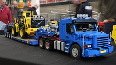 IMG_8595 (Barman76) Tags: lego technic modelteam scale truck crane modelshow europe ede 2019