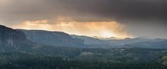Stormy weather (derliebewolf) Tags: frühling jahreszeiten teichstein spring storm stromy valles valley clouds mist goldenhour sunset nature widescreen panorama hiking snowstorm hailstorm hail rainy