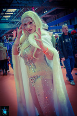 Emma Frost (Ibrahim D Photography) Tags: marvel marvelcomics emmafrost xmen cosplay cosplaygirls cosplayer comicbookcosplay mcmbirmingham mcmexpo mcm comiccon