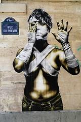 . (just.Luc) Tags: vrouw femme frau donna mujer woman urbanart streetart wall mur muur mauer parijs parigi paris îledefrance france frankrijk frankreich francia frança