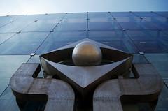 Emblème (Atreides59) Tags: prague praha républiquetchèque czechrepublic urban urbain bleu blue architecture ciel sky pentax k30 k 30 pentaxart atreides atreides59 cedriclafrance