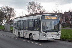 Manchester Community Transport YY67HBL (Mike McNiven) Tags: manchestercommunitytransport manchester community transport hollyhedgeroad baguley wythenshawe alexanderdennis enviro200 intutraffordcentre traffordcentre hackney hct mct