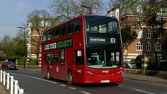 End Of A Short Trip (londonbusexplorer) Tags: abellio london adl enviro 400 hybrid 2449 sk14syy e1 greenford broadway ealing tfl buses
