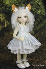 Fennec set Yosd (AnnaZu) Tags: fennec littlefee yosd set ears tail fox chloe commissions doll fairyland balljointed bjd abjd polymer clay