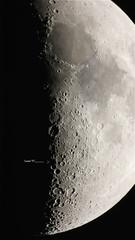 "April ""X"" (tbird0322) Tags: astronomy astrophotography moon luna mewlon canon takahashi"