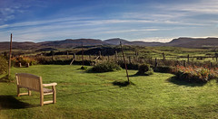 skye accomodation 1 2p (Bilderschreiber) Tags: garden view ausblick sun mornig sonne morgen accomodation isle skye scotland schottland uk