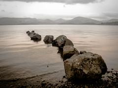 loch Lomond (Nicolas Valentin) Tags: scotland rocks scenery ecosse europe loch lochlomond lomond