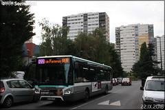 Iveco Bus Urbanway 12 - RATP (Régie Autonome des Transports Parisiens) / STIF (Syndicat des Transports d'Île-de-France) n°8888 (Semvatac) Tags: semvatac photo bus tramway métro transportencommun ivecobus urbanway12 dv292td ratp régieautonomedestransportsparisiens stif syndicatdestransportsdîledefrance 122 avenuedesolympiades fontenaysousbois valdemarne