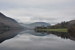 A grey but beautiful day (moniquerebanks) Tags: buttermere lakedistrict mirror spiegeling reflections lake meer see landscape nationalpark unesco worldheritage nikond7100 greysky hills heuvels bergen mountains countryside countryliving countrylife lakelander lakeland nature naturephotography cumbria uk merengebied natuur scenery peaceful serenity