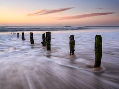 Youghal (Des Daly) Tags: seascape youghal cork sunrise backwash drag cloud