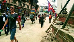 The picture is from Thamel, Kathmandu, Nepal.12.05.17. (kongefuglen) Tags: travel nepal working tourist street kathmandu thamel wandering differentpeople poor rich ruins asia east city mobilcapture samsung makingaliving workwithwhatyougot travelphotographer travelphoto