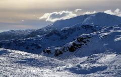 Cold Mountains (PJ Swan) Tags: cold mountains fells hills snow ice icy winter peaks lake district coniston cumbria england great britain silver how