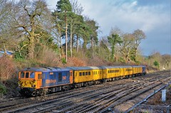 73962 (stavioni) Tags: gbrf gb railfreight class73 electro diesel rail railway test train network yellow