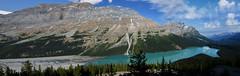 Maligne Lake panorama (Stewart Stein) Tags: stewbruste stewstein malignelake malignelakealberta alberta jasper jaspernationalpark lake rockflour glacial canada natue naturephotography rockies canadianrockies canadian turquoise glaciallake