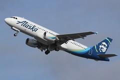 Alaska (So Cal Metro) Tags: n840va alaska alaskaair alaskaairlines aag airbus a320 las lasvegas mccarranairport mccarran vegas airliner airline aircraft aviation airport jet