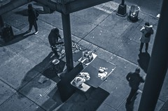 Position... (Capitancapitan) Tags: nyc neury luciano black white new york pop rock urim y tumim pentax people street photography merengue