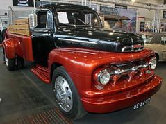 F5 (Schwanzus_Longus) Tags: bremen classic motorshow german germany old vintage car vehicle us usa america american pickup pick up truck ford f5
