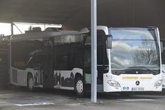 Mercedes-Benz O 530 LE Ü (C2) Scholten Omnibusse Xanten 9253 met kenteken WES-JS 515 in Xanten 03-02-2019 (marcelwijers) Tags: mercedesbenz o 530 le ü c2 scholten omnibusse xanten 9253 met kenteken wesjs 515 03022019 mercedes benz bus busse buses bussen autobus lijnbus linienbus coach nrw niederrhein deutschland duitsland germany allemagne