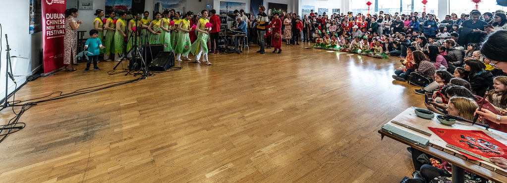 YEAR OF THE PIG - LUNAR NEW YEAR CELEBRATION AT THE CHQ IN DUBLIN [OFTEN REFERRED TO AS CHINESE NEW YEAR]-148921