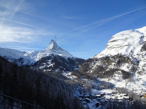 Zermatter Aussicht aufs Matterhorn