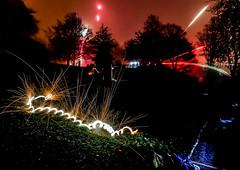 _1380584 (agawtal) Tags: sylvester 2018 feuerwerk nordpark mehrfachbelichtung