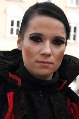 [LA]: Vampire Princess (reinh_3008) Tags: faschingssonntag fasching landshut 2019 vampir princess woman dracula vampire prinzessin darkness black hair red eyes highness exciting