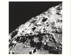 a11_r_bw_o_TPMBK (AS11-42-6248) (apollo_4ever) Tags: craters lunarcraters impactcraters centralpeak texture textured cratered crateredsurface korolev crookes lunarhorizon highresolution magnificentdesolation stark moonshot farsideofthemoon lunarlimb orbitalphotography lunarorbit humanspaceflight mannedspaceflight korolevcrater crookescrater apollo11 apolloxi lunarfarside ruggedterrain dramatic composition contrast blackandwhite glossyphoto