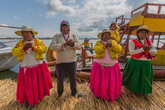 Music Infusion (Andrea Gambadoro) Tags: yellow peru pros island music infusion sing singing photography photographer street travel travelling explore camera canon 5d markiii colours folk floating titicaca south america community