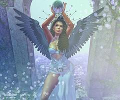 Goddess (Jade Adored) Tags: una pepeskins dappa randommatter doux genushead bento mesh oxydate sweetthing valium maitreya kinky event k9 tattoo